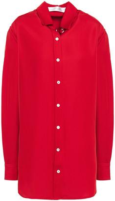 Victoria Beckham Cutout Twill Shirt