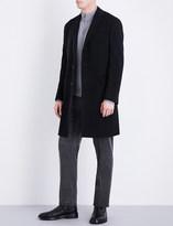 Ralph Lauren Purple Label Melton wool and cashmere-blend coat