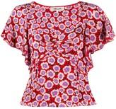 Diane von Furstenberg Lydia floral blouse