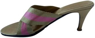 Gucci Multicolour Cloth Sandals