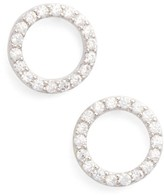 Jules Smith Designs Women's Betty Pave Stud Earrings