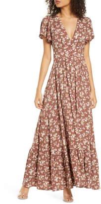 AUGUSTE Matilda Sunday Floral Maxi Dress