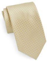 Saks Fifth Avenue Mini-Diamond Silk Tie & Gift Box