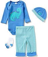 Starting Out Baby Boys Newborn-9 Months Dino 4-Piece Layette Set