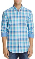 BOSS GREEN C Bence Plaid Regular Fit Button-Down Shirt