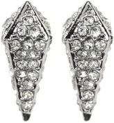 Rebecca Minkoff Pave Spike Stud Earrings