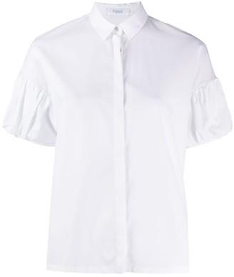 Barba Short Puff-Sleeved Shirt