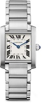 Cartier Tank Francaise Medium Stainless Steel Bracelet Watch