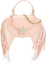 Elisabetta Franchi La Mia Bambina - fringe star bag - kids - Polyester/Polyurethane - One Size