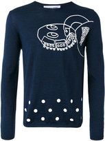 Comme des Garcons abstract print jumper