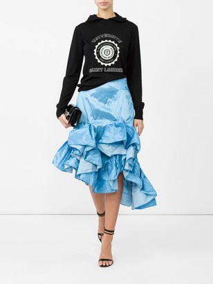 Marques Almeida Melted Frill Skirt