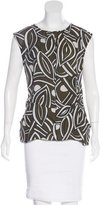 Marni Abstract Print Sleeveless Top