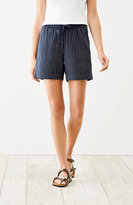 J. Jill Easy Double-Cloth Shorts