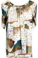 Vionnet Printed Cotton-Blend Blouse