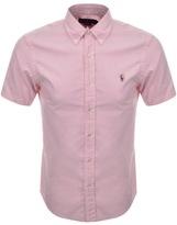 Ralph Lauren Short Sleeved Oxford Shirt Pink