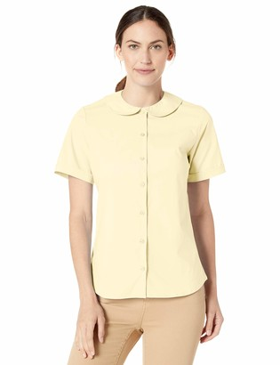 Classroom School Uniforms womens SS Peter Pan Blouse