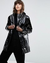 Weekday Vinyl Patent Coat