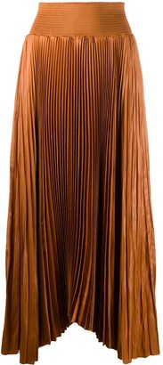 A.L.C. Pleated Maxi Hem