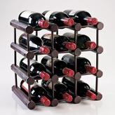 Wine Enthusiast Modular 12-Bottle Wine Rack in Mahogany