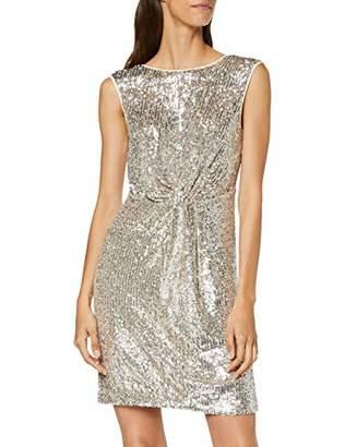 Naf Naf Women's LASHIN R1 Knee-Length Cocktail Sleeveless Party Dress,8 (Manufacturer Size: 36)