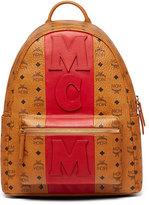 MCM Stark Stripe Visetos Backpack
