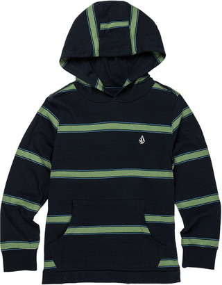 Volcom Da Fino Stripe Cotton Hooded T-Shirt