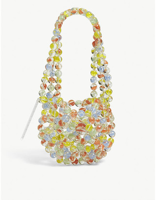 Susan Fang Bubble Bowl beaded shoulder bag