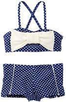 Hula Star Ocean Dot Two-Piece Swimsuit (Toddler & Little Girls)