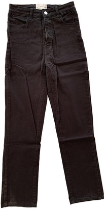 Barbara Casasola Black Cotton - elasthane Jeans for Women