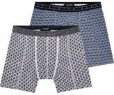 Scotch & Soda 2-Pack Melange Boxer Shorts