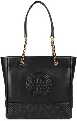 Tory Burch Fleming Leather Tote
