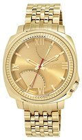 Vince Camuto Men's VC/1002GDGP The Veteran Multi-Functin Dial Gold-Tone Bracelet Watch