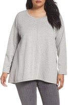 Plus Size Women's Caslon High/low Sweatshirt