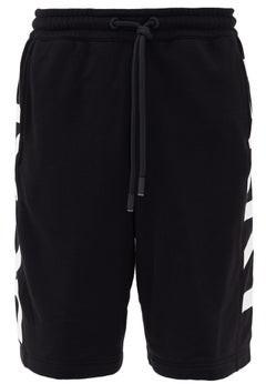 Burberry Fawnley Logo-print Cotton-jersey Shorts - Black