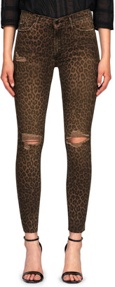 Black Orchid Carmen High-Rise Ankle Fray Skinny Jeans