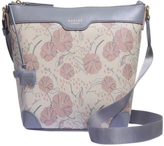 Radley Moonflower Medum Zip-Top Crossbody Bag