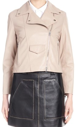 Simonetta Ravizza Biker Cropped Jacket