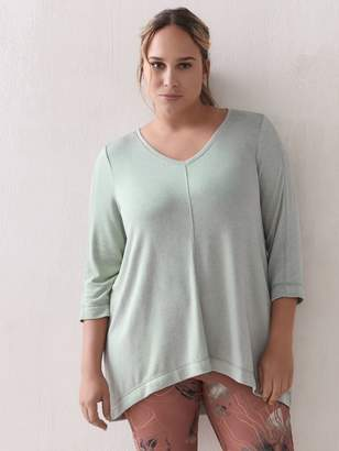 Activezone A-Line Jersey Tunic Top - ActiveZone