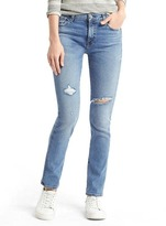Gap AUTHENTIC 1969 destructed real straight jeans