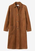 Toast Suede Long Coat