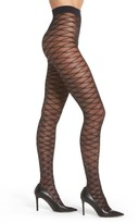 Pretty Polly Women's Diamond Design Tights