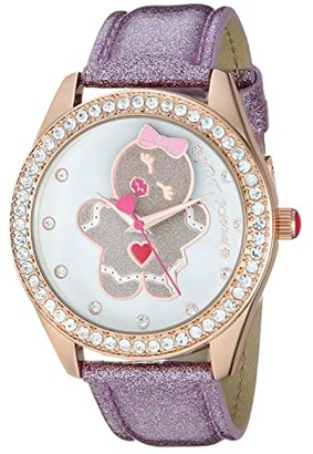 Betsey Johnson Keep It Sweet Gingergal Watch (Rose Gold) Watches