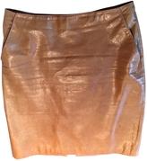 Miu Miu Mid-length leather skirt