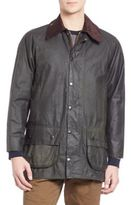 Barbour Washed Ribbed Collar Jacket