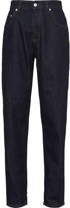 Miu Miu Lauren high-waisted jeans