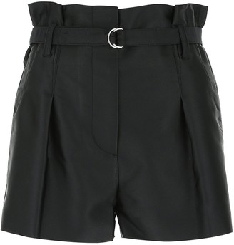 3.1 Phillip Lim Belted Pleated Shorts