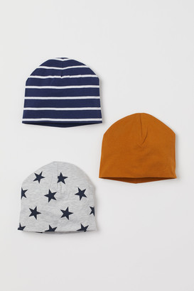 H&M 3-pack Jersey Hats
