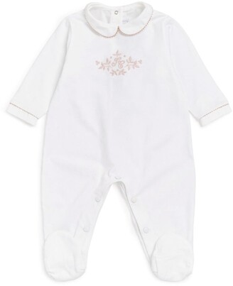 Tartine et Chocolat Embroidered Cotton All-In-One