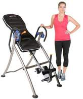 "Iron Man IRONMAN ""iCONTROL"" 600 Weight Extended Disk Brake System Inversion Table with ""Air Tech"" Backrest"