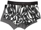 Emporio Armani 2-Pack Stretch Cotton Trunk Men's Underwear